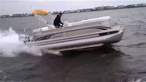 pontoon boats north bay north bay marina s performance pontoon boat video youtube
