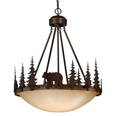 Cabin Chandeliers Rustic Chandeliers Montana Inverted Chandelier Black Forest Decor