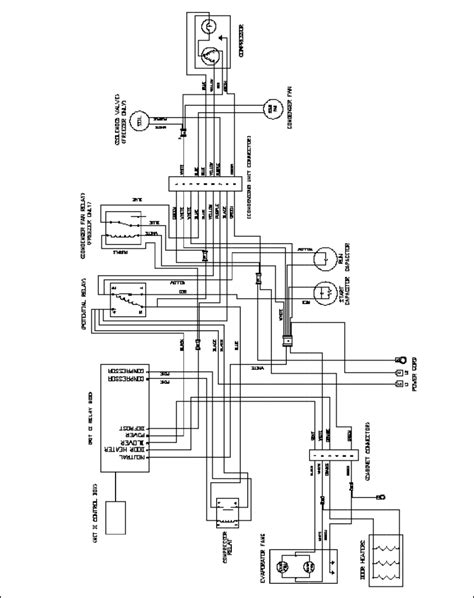 traulsen freezer wiring diagram wiring diagram
