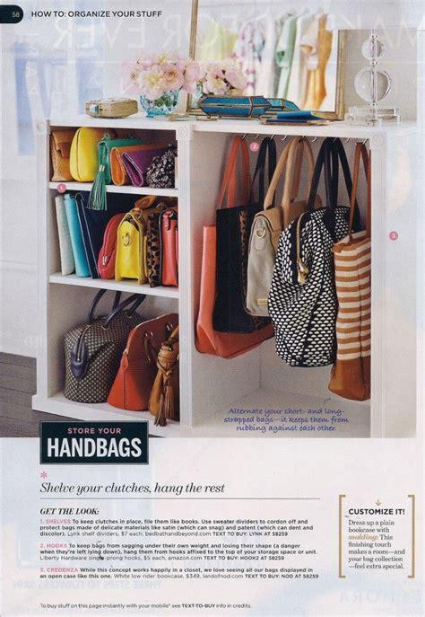 organisation armario closet organization purse