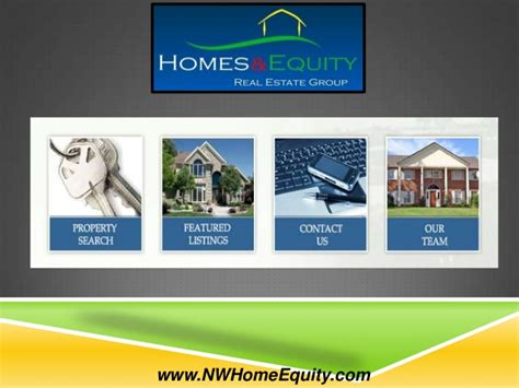 homes and equity real estate presentation