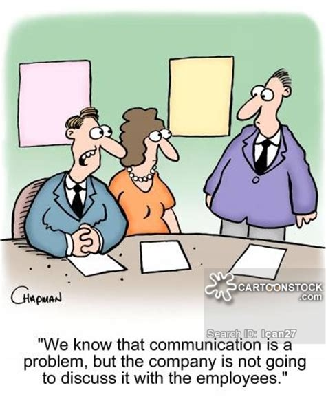 Volunteer Jobs Resume by Communication Problems Cartoons And Comics Funny