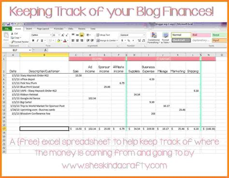 10 Personal Income And Expenses Spreadsheet Excel Spreadsheets Group Excel Income Expense Template