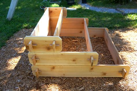 Raised Herb Planter Box by Raised Bed Patio Garden Planter Flower Box Herb Elevated