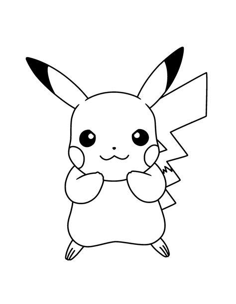 imagenes para colorear y dibujar dibujos pikachu para dibujar imprimir colorear y