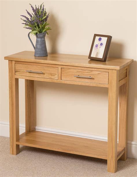 oak console oslo solid oak console table oak furniture king