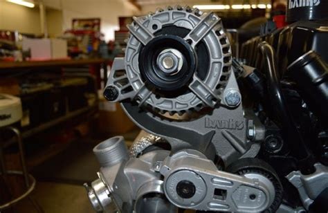 banks 4 0 jeep turbo banks turbo installed on 4 0l with alternator photo