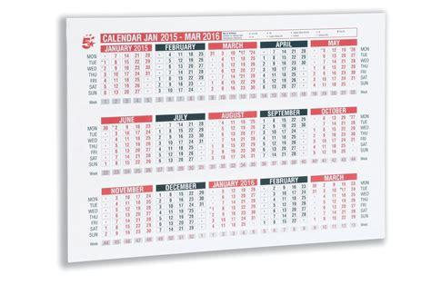 Calendar With Week Numbers 2015 2015 Calendar With Week Numbers