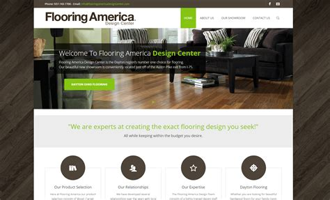 flooring america dayton ohio website design graphic design design by schultz