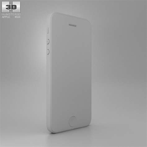 apple iphone 5 black 3d model hum3d