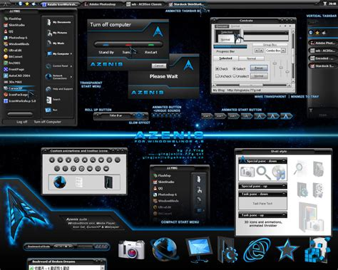 themes download free download azenis win blind xp theme themes for pc