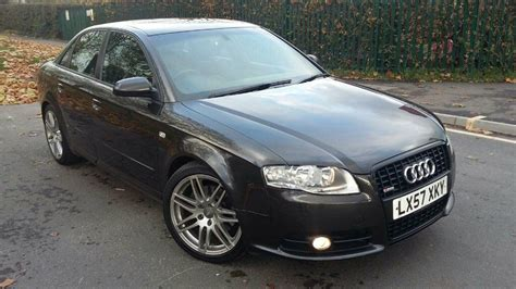 how petrol cars work 2007 audi a4 navigation system 2007 audi a4 2 0 tdi s line black edition 200 bhp sat nav tv fsh low miles only 2 owners