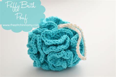 free crochet bathroom patterns puffy bath pouf free pattern the stitchin mommy