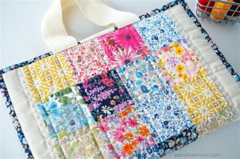 pattern for quilted notebook cover easy laptop case tutorial allfreesewing com