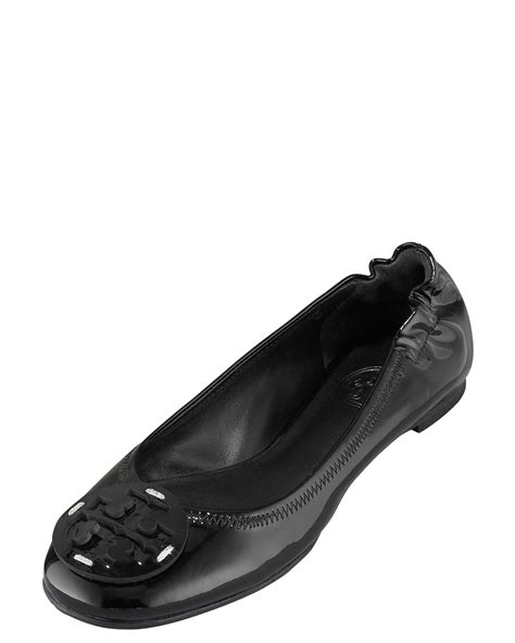 Going Burch Reva Ballet Flats by Burch Reva Patent Ballet Flat Black In Black Lyst