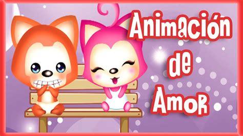 buscar imagenes animadas de amor personajes tiernos con frases de amor animaci 243 n youtube