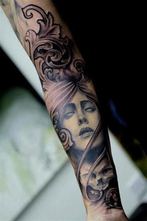 tattoo sleeve inspiration groom inspiration sleeve tattoo 2204482 weddbook