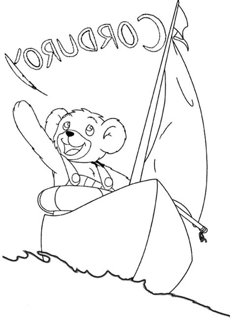 lisa hugging corduroy the bear coloring pages batch coloring