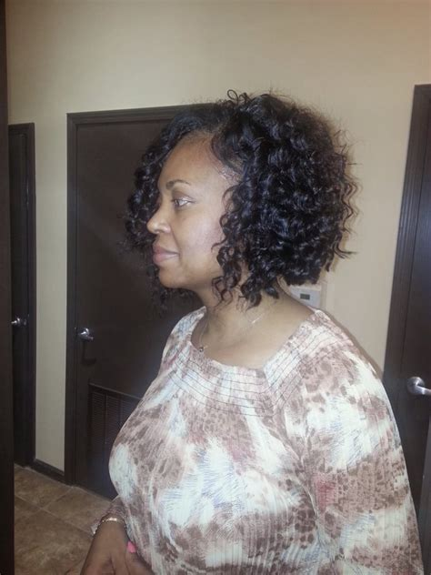 wavy full sew in full sew in with curly hair extensions yelp
