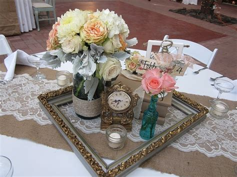 picture frame centerpieces for weddings picture frame centerpiece cowgirls