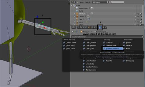 blender tutorial inverse kinematics rigging karakter blender 3d mike monster university dengan