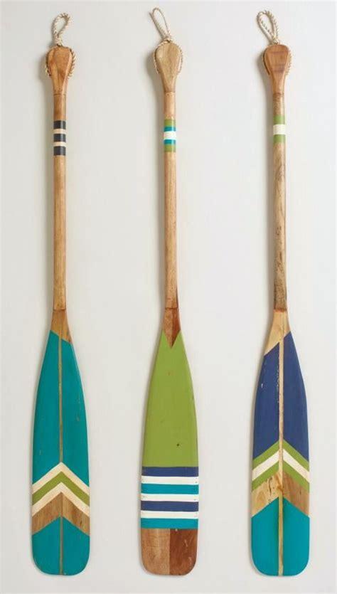 25 best painted oars ideas on pinterest oar decor - Decorative Boat Oars On Wall