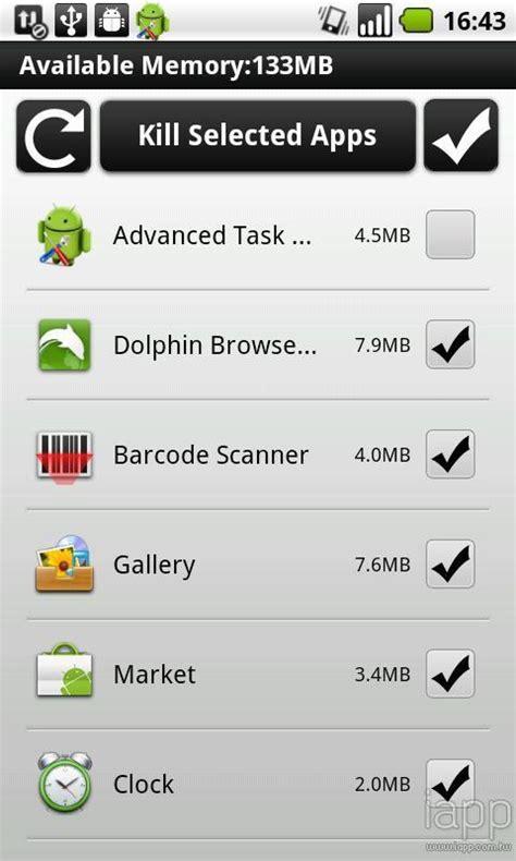 easy task killer apk easy task killer advanced free apk android app android freeware