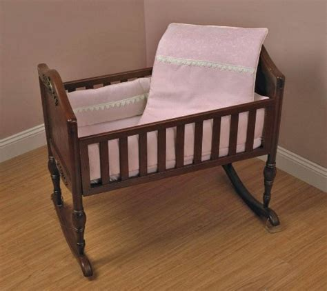 Port A Crib Bedding Lower Pricebaby Doll Bedding Madisson Puffed Brocade With Lace Port A Crib Bedding Set Pink