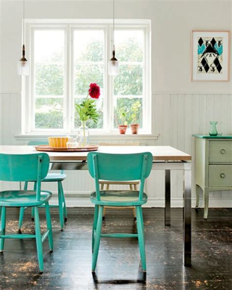 Aqua Dining Room by A Closer Look At Six Enigmatic Colors In Home Decor