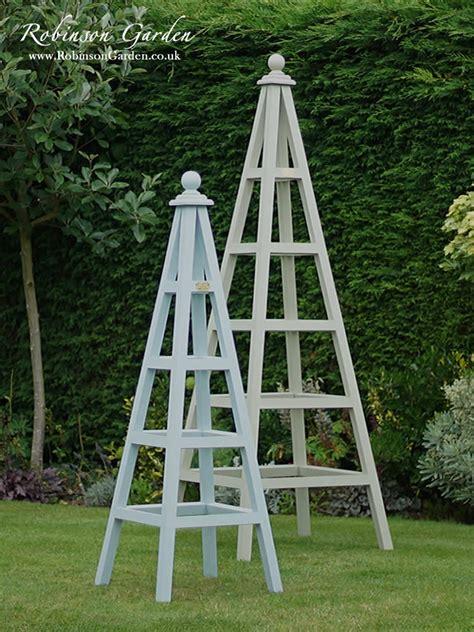How To Make Trellis For Climbing Plants Windsor Wooden Garden Obelisk Robinson Garden