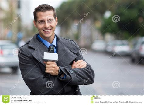 The Reporter professional news reporter stock images image 34939384