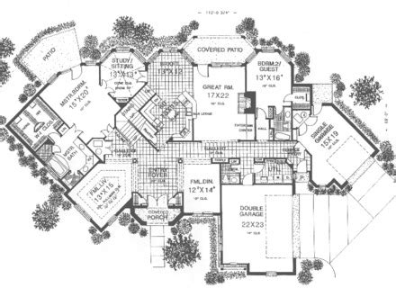 island cottage house plan english floor plans one story small mpelectricltda