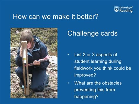 make it even better fieldwork what can we do to make it even better