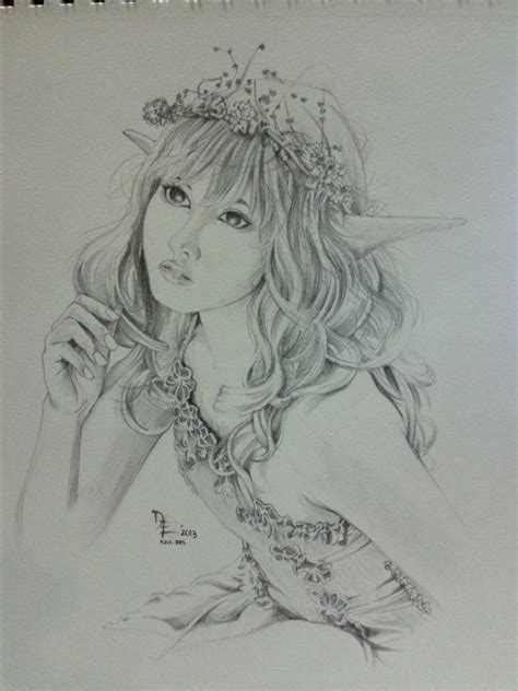 fairy sketch by artistiko07 on deviantart