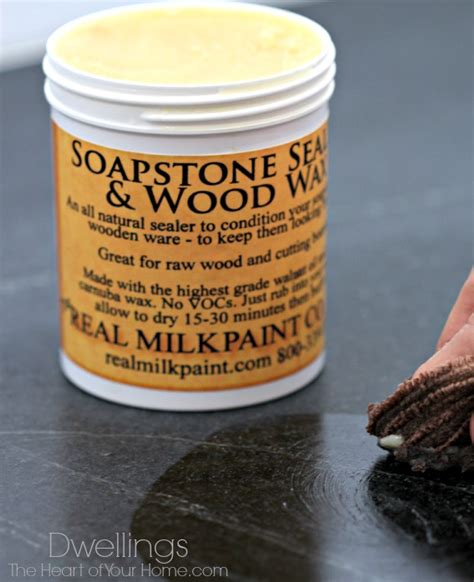 Soapstone Sealer - soapstone sealing in the kitchen dwellings the of