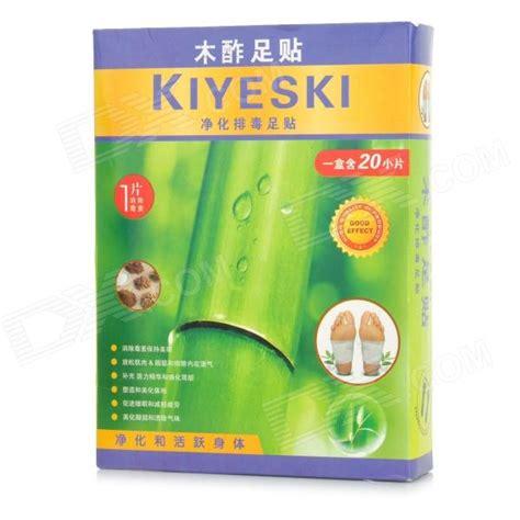 Wood Vinegar Detox Patches by Buy Best Kiyeski Wood Vinegar Detox Foot Patches White