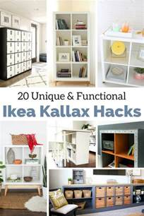 Kitchen Space Saver Ideas the best ikea kallax hacks and 20 different ways to use them