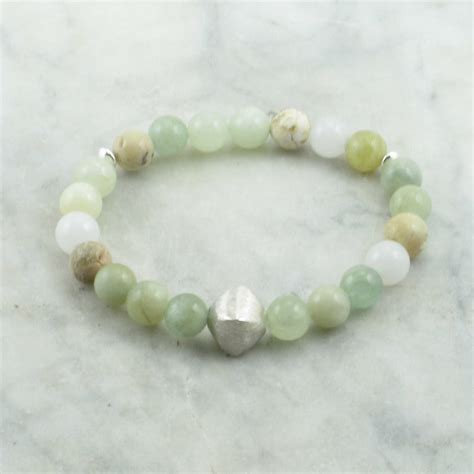 water ayurvedic bracelet for pitta 21 opal and