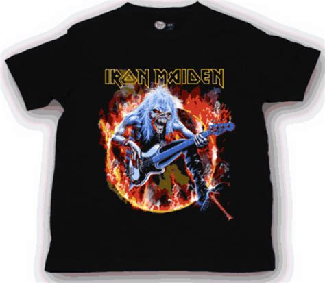 T Shirt Metal Iron Maiden iron maiden t shirt flf