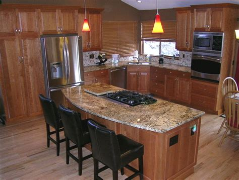 Island Countertop Overhang by How Much Overhang For Kitchen Island Islands Kabco