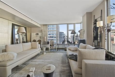manhatten appartments sophisticated manhattan apartment design oozes