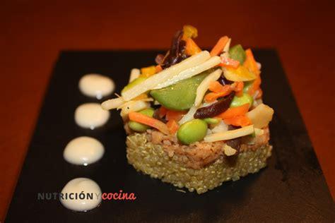 cocinar con soja cocinar quinoa con soja texturizada nutricion y cocina