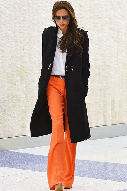 Style Beckham Fabsugar Want Need 9 by 17 Best Ideas About Orange On