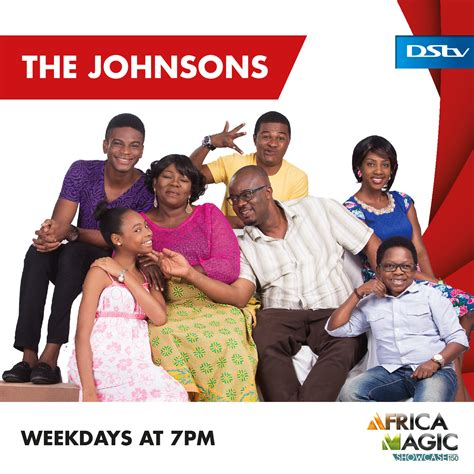 The Tv Show by Comic Tv Series The Johnsons Set To Premiere On Africamagictv Home