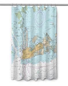 shower curtain nautical fl key west fl nautical chart shower curtain