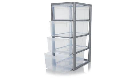 Drawer Unit Storage by Asda 4 Drawer Storage Unit Storage George At Asda