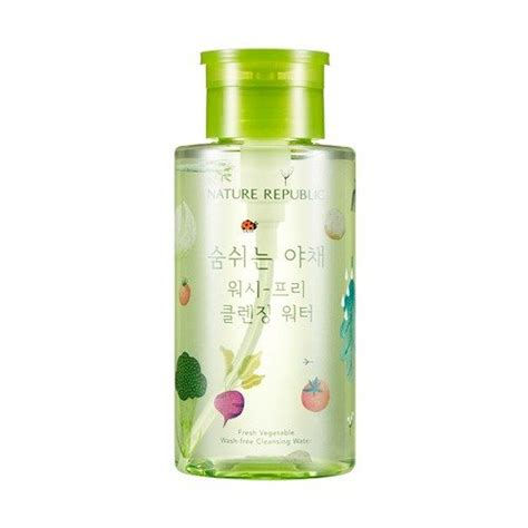 Chic Republic Detox Wash by Nature Republic Fresh Vegetable Wash Free Cleansing Water