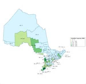 wind map canada wind power in canada
