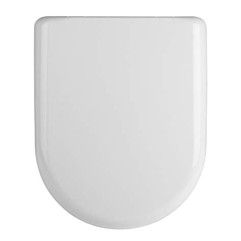 toilet seat top luxury d shape soft top fixing release