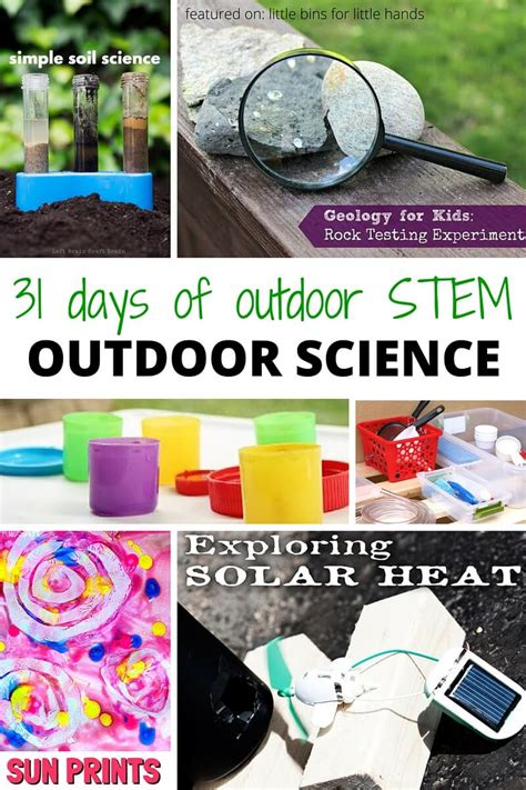 backyard science experiments for kids outdoor science activities for kids outdoor stem